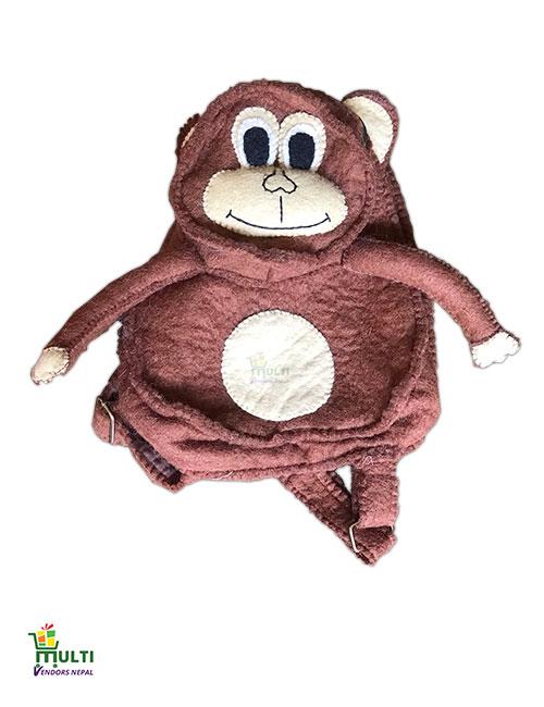 M.V.S.H-015-KIds-Bag-Monkey