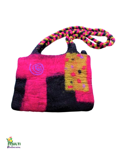 Pink and Black Trendy-M.V.S.H-050