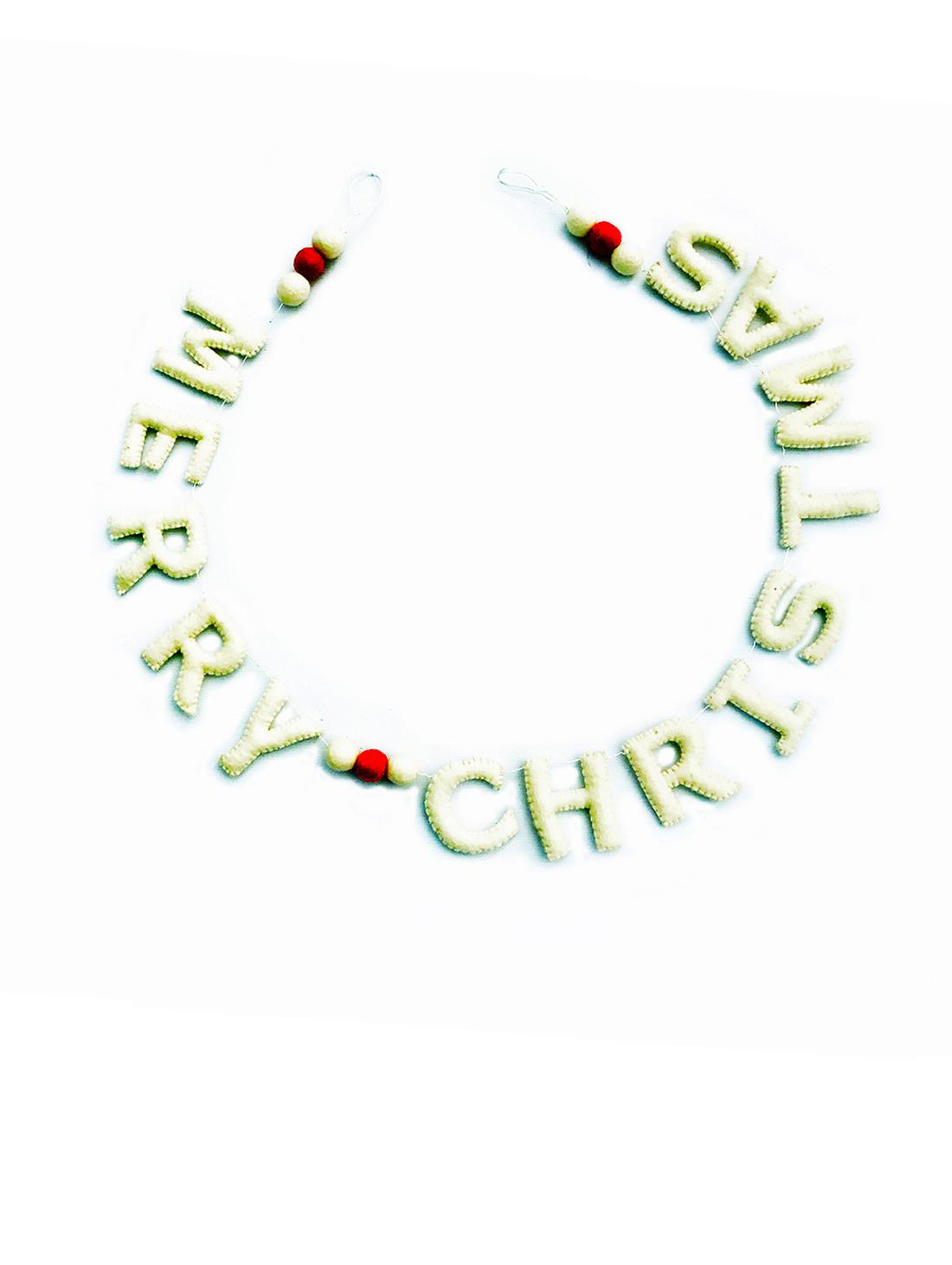 Merry Christmas Banner M.V.S.E.B -F-021