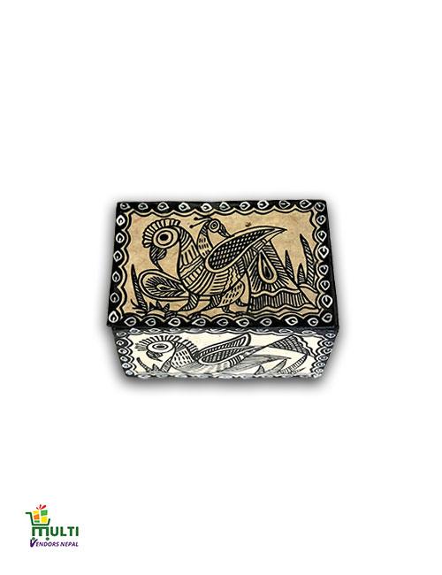 M.V.S-19-Mithila Art-Paper Gift Box