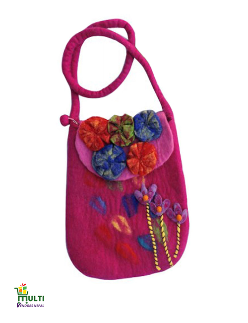 Cozy Pink With Flowers-M.V K-142-S