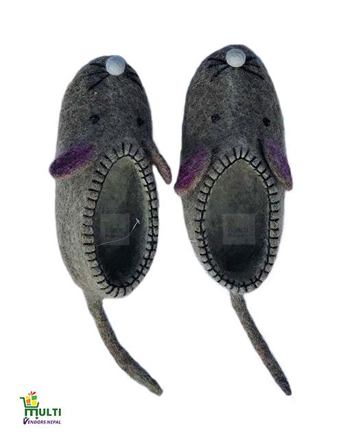 S-106-Felt Shoes