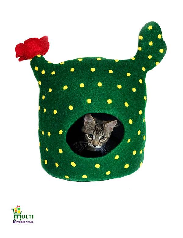 Cactus Design Cat Cave