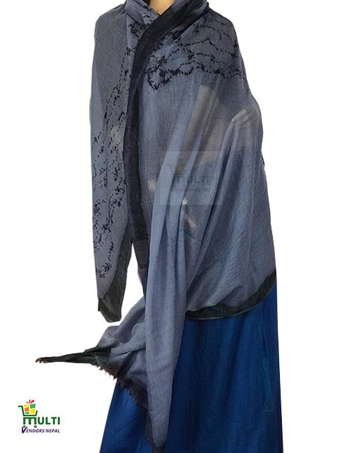 02 C-Designer Pashmina  Shawl