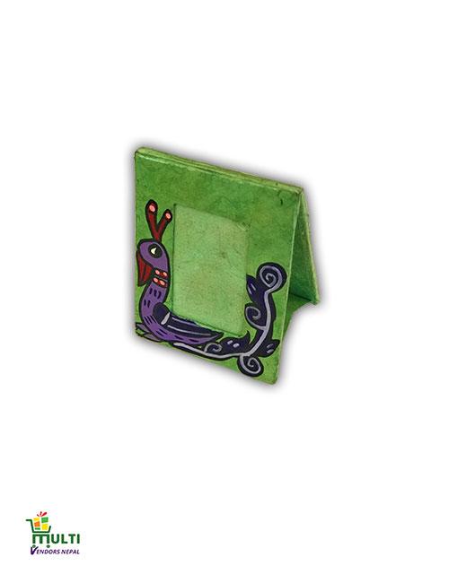 M.V.S-17-A-Mithila Art-Paper Small Photo Frame