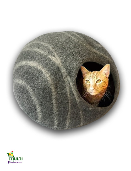 Charcoal Shade Cave with Stripes-015