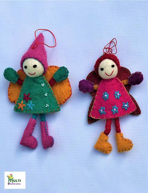Two Dolls Set -M.V.K.S-137-S