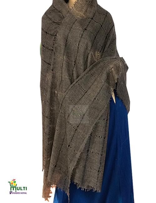 09 B -Designer Pashmina  Shawl