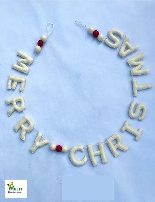 Merry Christmas Hanging-M.V.K.S-122-S