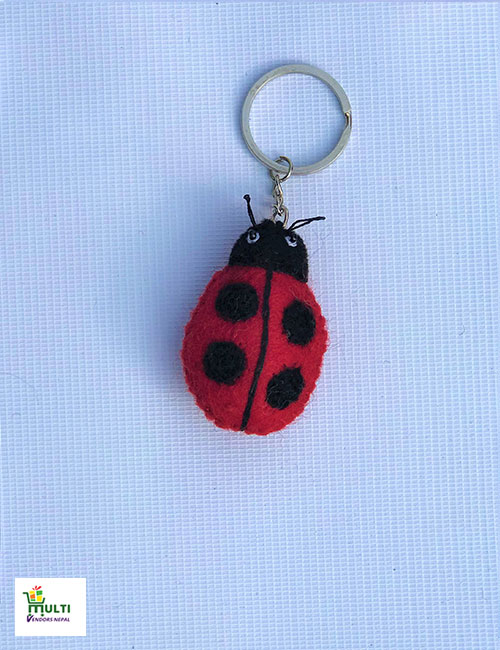 Lady Bird Key Ring-M.V.K.S-136-S