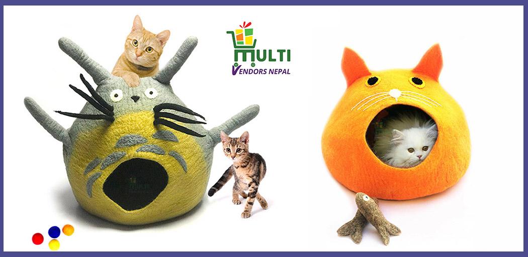 CAT  LOVES  CAT CAVES